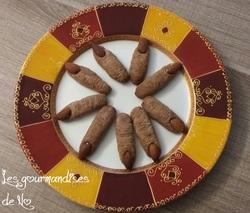 Biscuits d'Halloween (2) : les doigts!