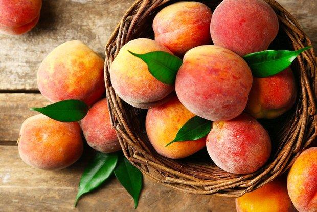 При диабете персик