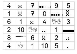 Dominos des compléments à 10