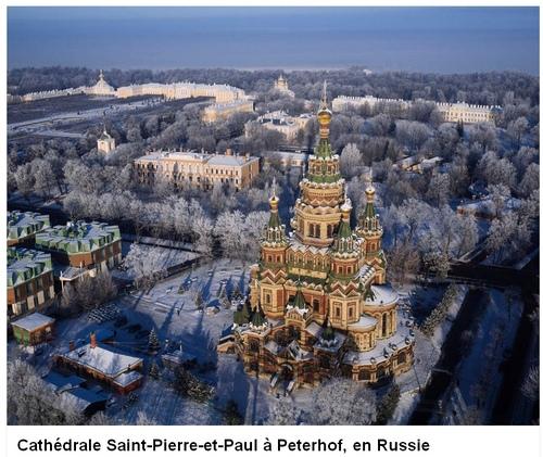 Croisière Saint Petersbourg- Moscou