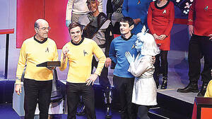 dance ballet startrek the musical boldly go