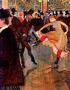 107 Toulouse-Lautrec, Moulin Rouge vert323