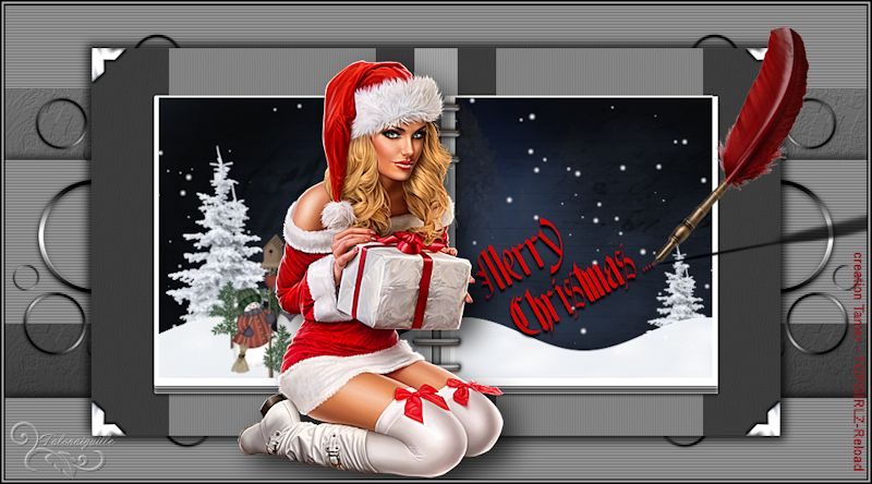 *** Merry Christmas - creation Tamer - TOPGIRLZ-Reload ***