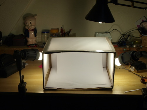 Fabrication d'une Lightbox