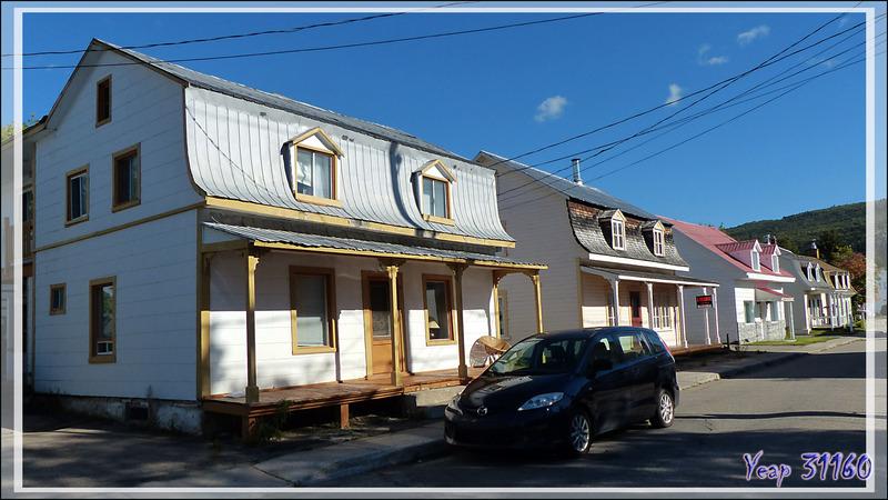 16 septembre 2016 : visite de Baie-Saint-Paul avec ses maisons anciennes - Charlevoix - Québec - Canada