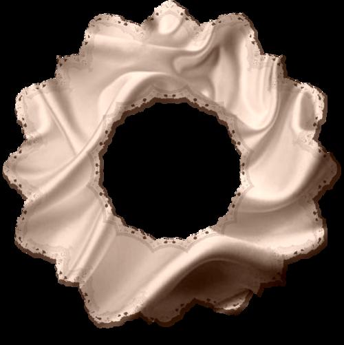 Cadres forme étoile, tissu déchiré