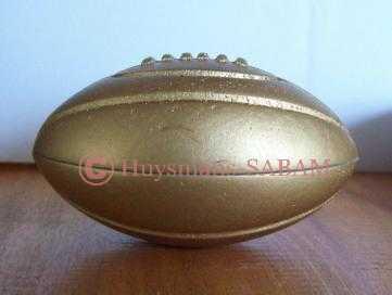 Ballon de rugby en ronde-bosse - Arts et Sculpture