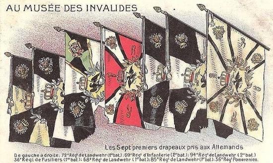 drapeaux Invalides dessins