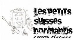 projet de logo pour les petits suisses normands