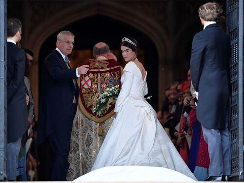 mariage ( 2) d'Eugénie d'York et de Jack Brooksbank