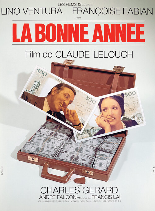 LA BONNE ANNEE - BOX OFFICE LINO VENTURA 1973