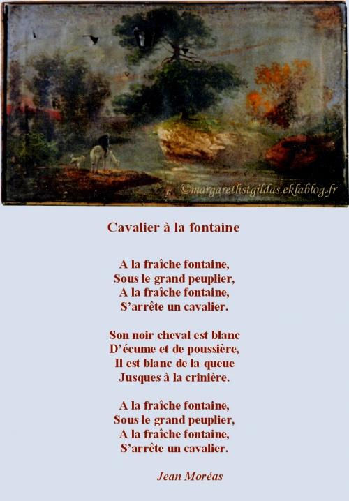Cavalier à La Fontaine Jean Moréas Margareth