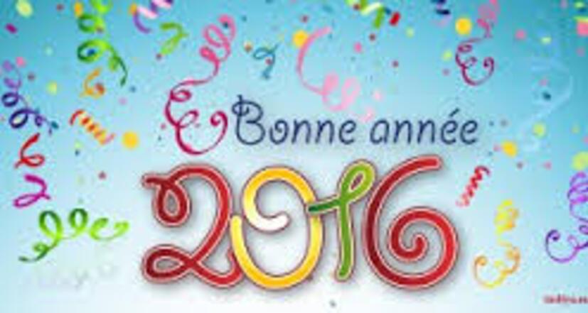 Nos voeux pour 2016