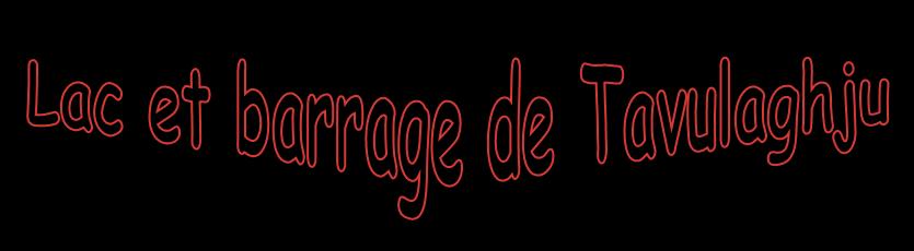 Barrage de Galéria - Corse