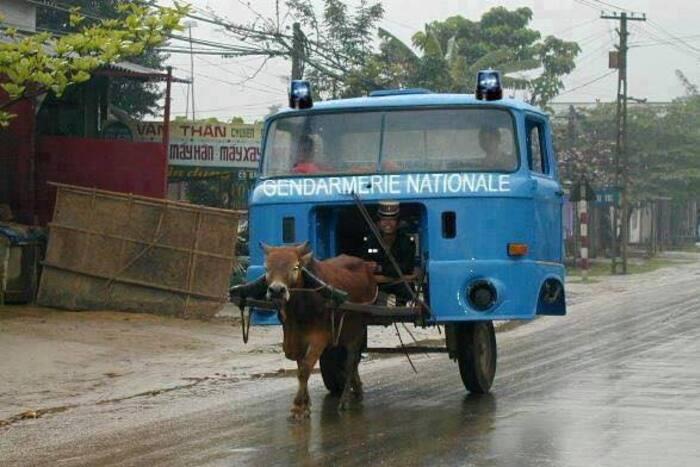 les français vont bientôt rouler comme cela      lol