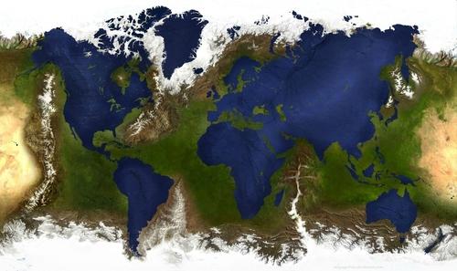 Invertion terre mer