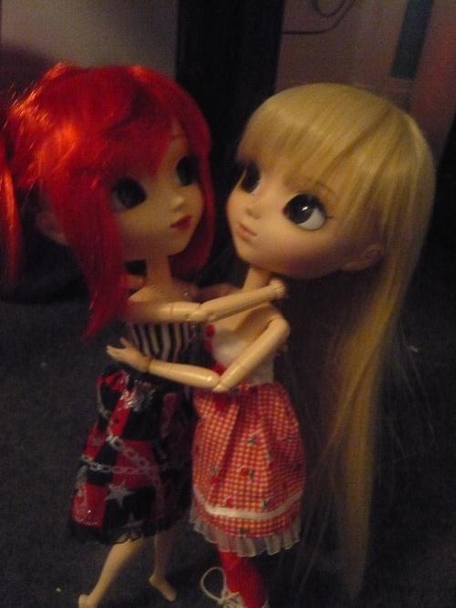 Avec Angélina