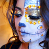 icon make up hallowen