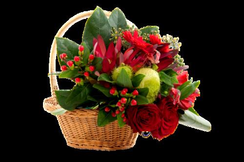 Paniers fleuris 3
