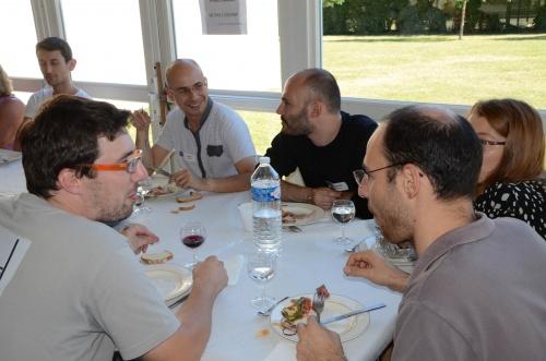 Tournoi 2012 : le repas du midi