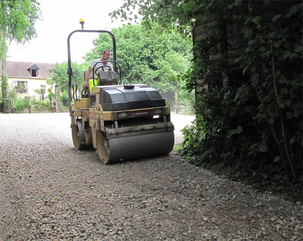 Réhabilitation de chemins ruraux