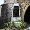 thonnelle mur église