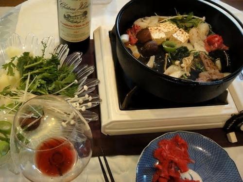 Le sukiyaki commémoratif du dixième anniversaire