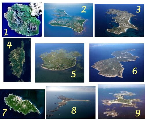 Quelques îles