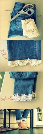 Classy jeans look