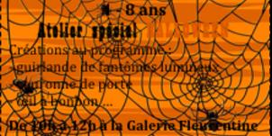 Stage d'Automne du 20 au 24 octobre : Art Déco & Atelier Spécial Halloween