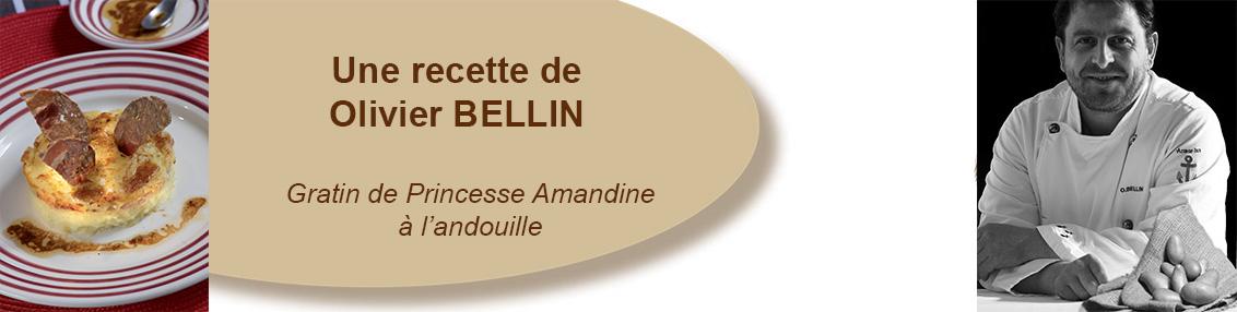 Gratin de Princesse Amandine à l'andouille