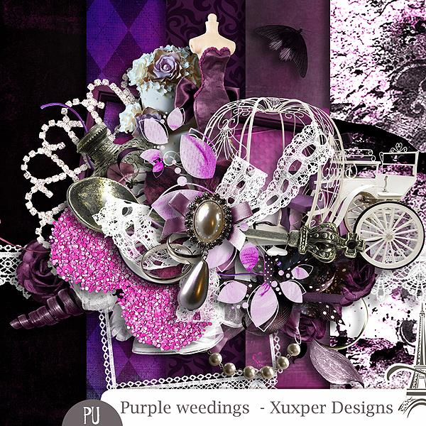 PURPLE WEEDING BY XUXPER DESIGNS