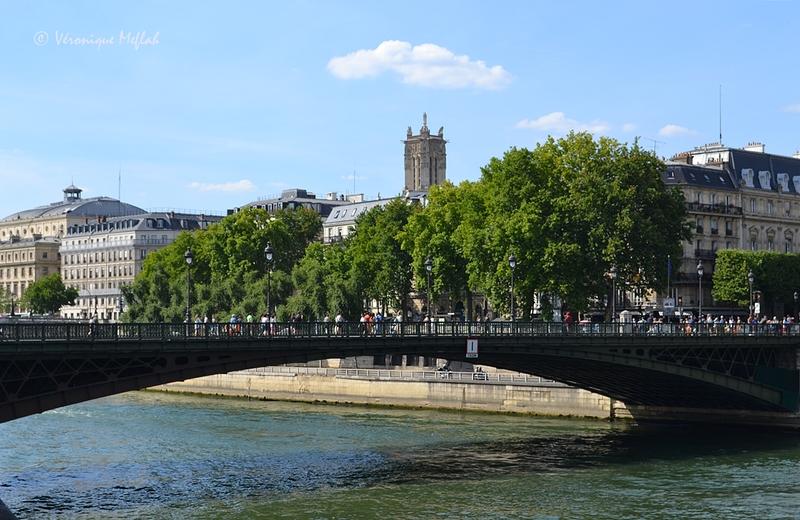 L'île de la Cité : Pont d'Arcole