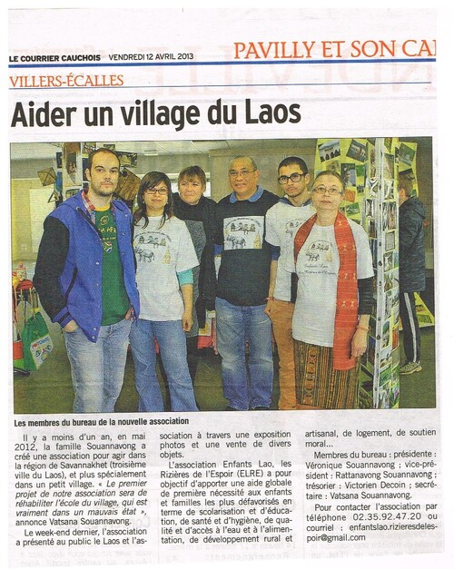 Article de presse Exposition Multi Arts