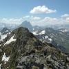 Du sommet du Soum de Moundaut, le pic du Midi d'Ossau
