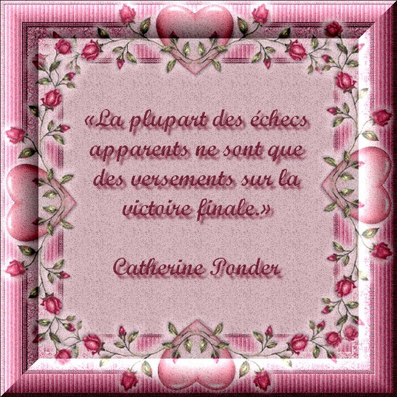 Citation de Catherine Ponder - S'adapter sans abandonner avec texte