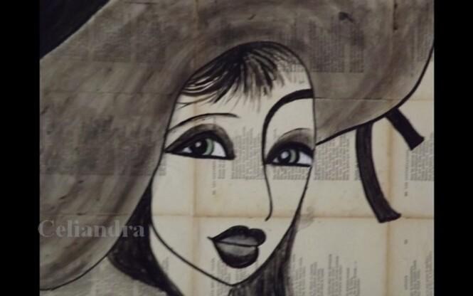 Peinture: La Femme à