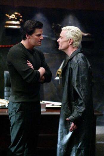 Spike et Angel