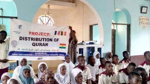 Distribution de Coran au Ghana