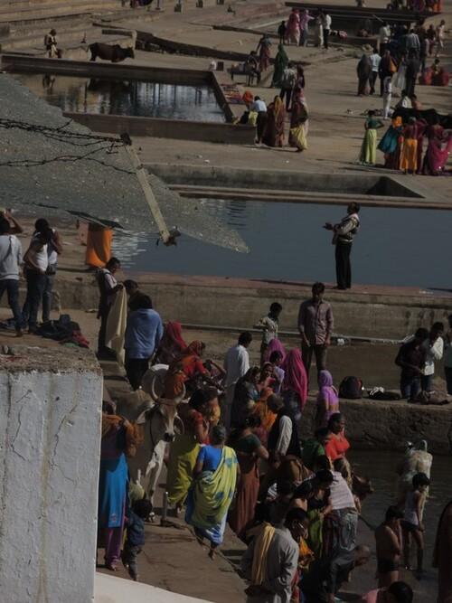 Inde 2014- Jour 7- Le lac sacré de Pushkar