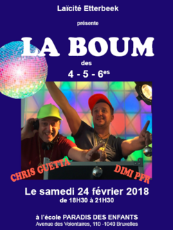 [Ecole] Boum 2018