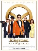 Kingsman le cercle d'or affiche