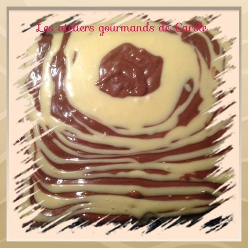 Marbré vanille chocolat