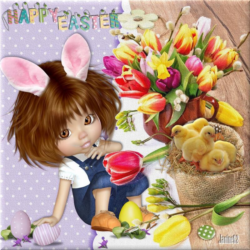 Joyeuses Pâques d'♥ Athos & Cheyenne ♥