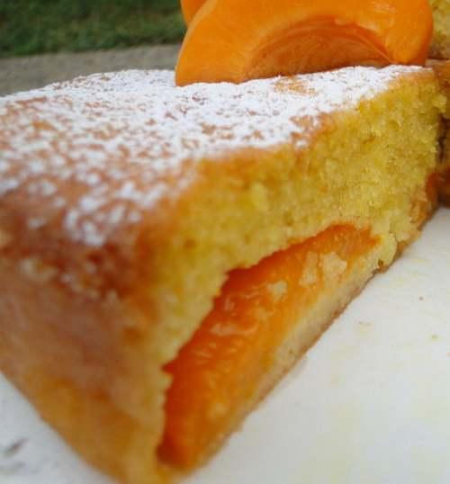 Recette de cuisine : Gâteau aux abricots