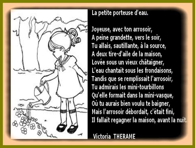 Auteur; Victoria THERAME.