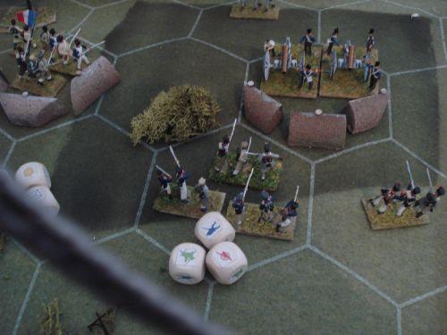 La bataille des redoutes
