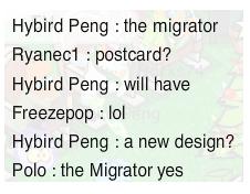 Le migrateur va adopter un nouveau design