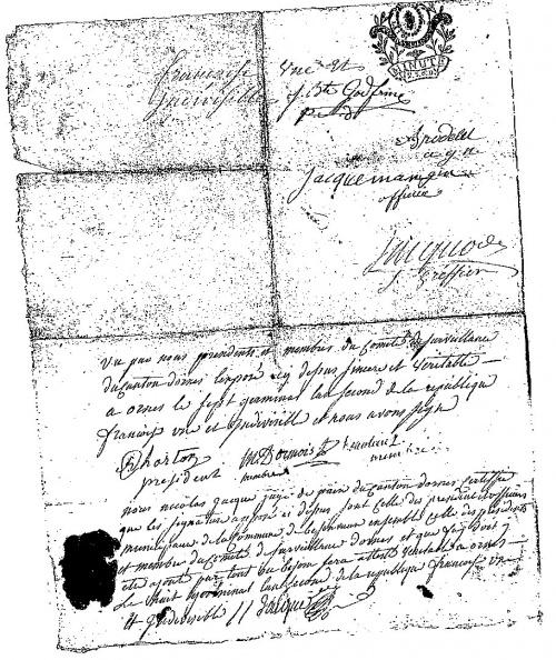 Bezonvaux aux XVIII et XIX siècles