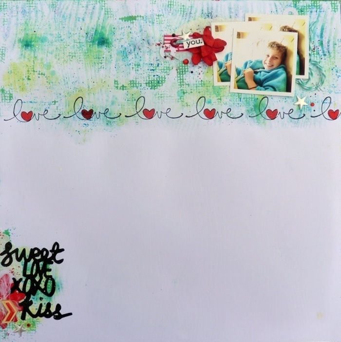 Toga Scrapbooking Day - Défi N°2
